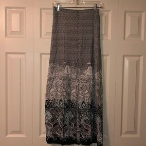 Express maxi skirt, size small.